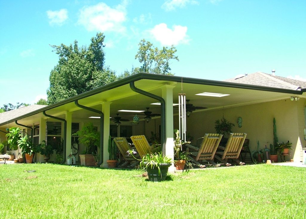 Aluminum Patio Cover Contractors in New Orleans Louisiana | Carport ...
